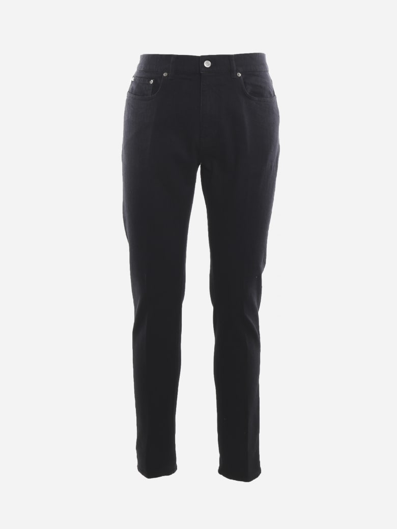 Golden Goose Five-pocket Cotton Jeans - Black