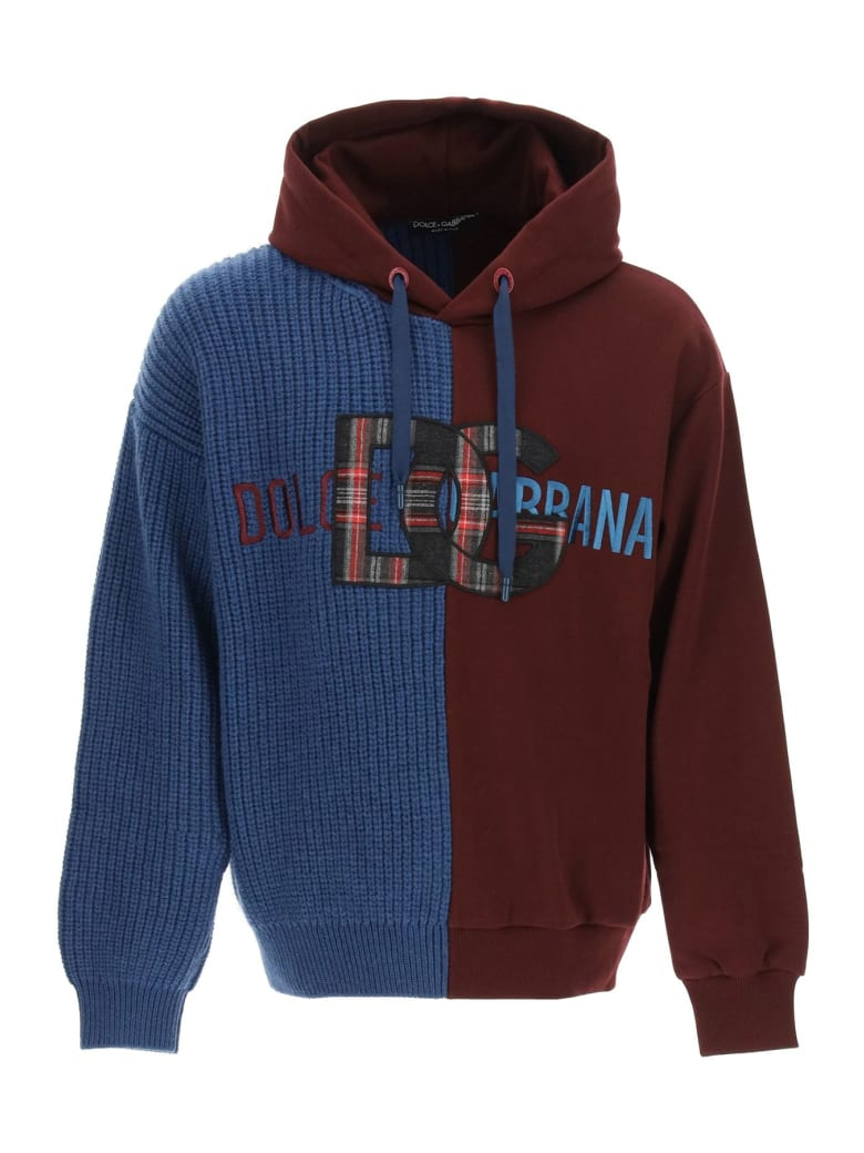 Dolce & Gabbana Mixed Technique Sweatshirt