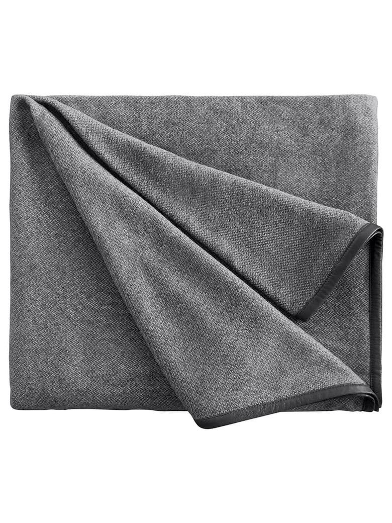 Midsummer Milano Cavalieri Grey Blanket - Grey