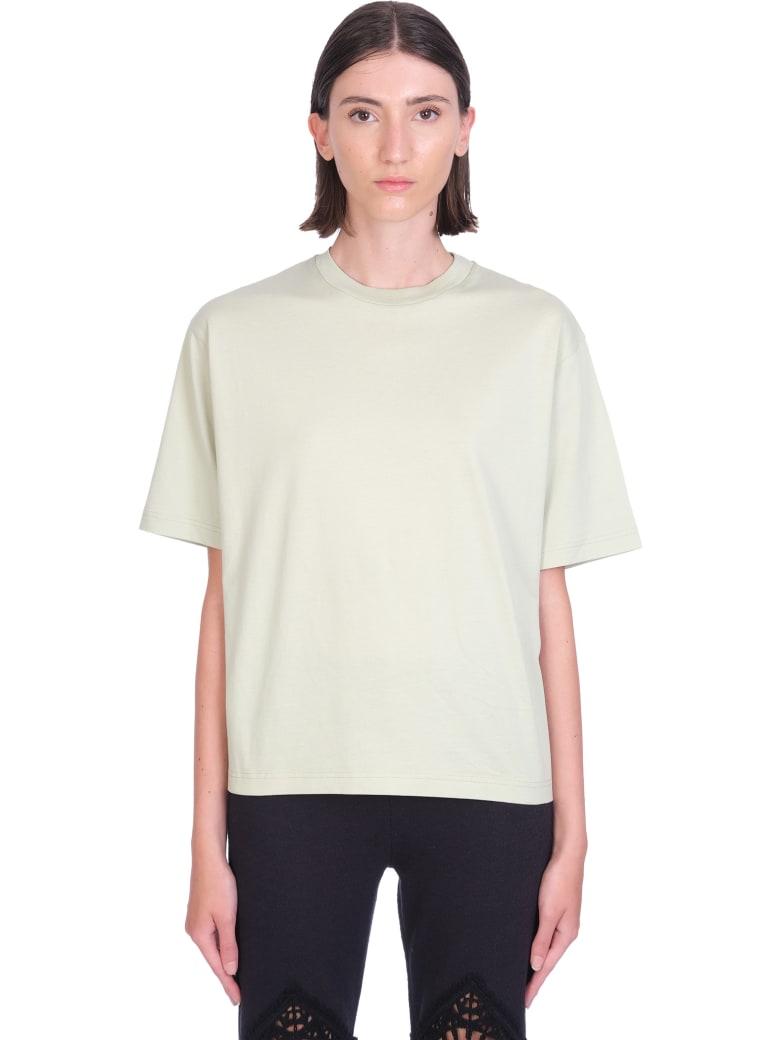 Acne Studios T-shirt In Green Cotton - green
