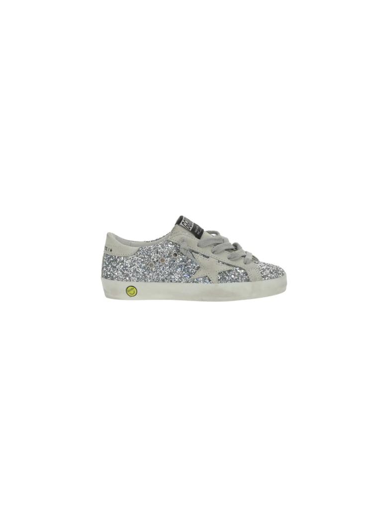 Golden Goose Superstar Sneakers For Girl - Silver