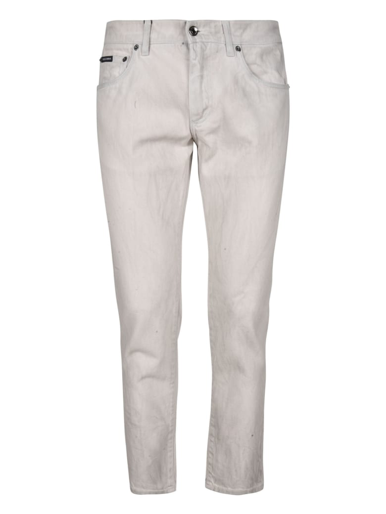 Dolce & Gabbana Fitted Jeans - NEUTRALS