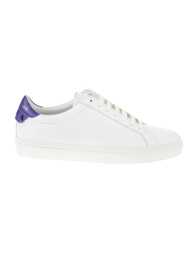 Givenchy White And Purple Urban Street Man Sneakers - White/viol