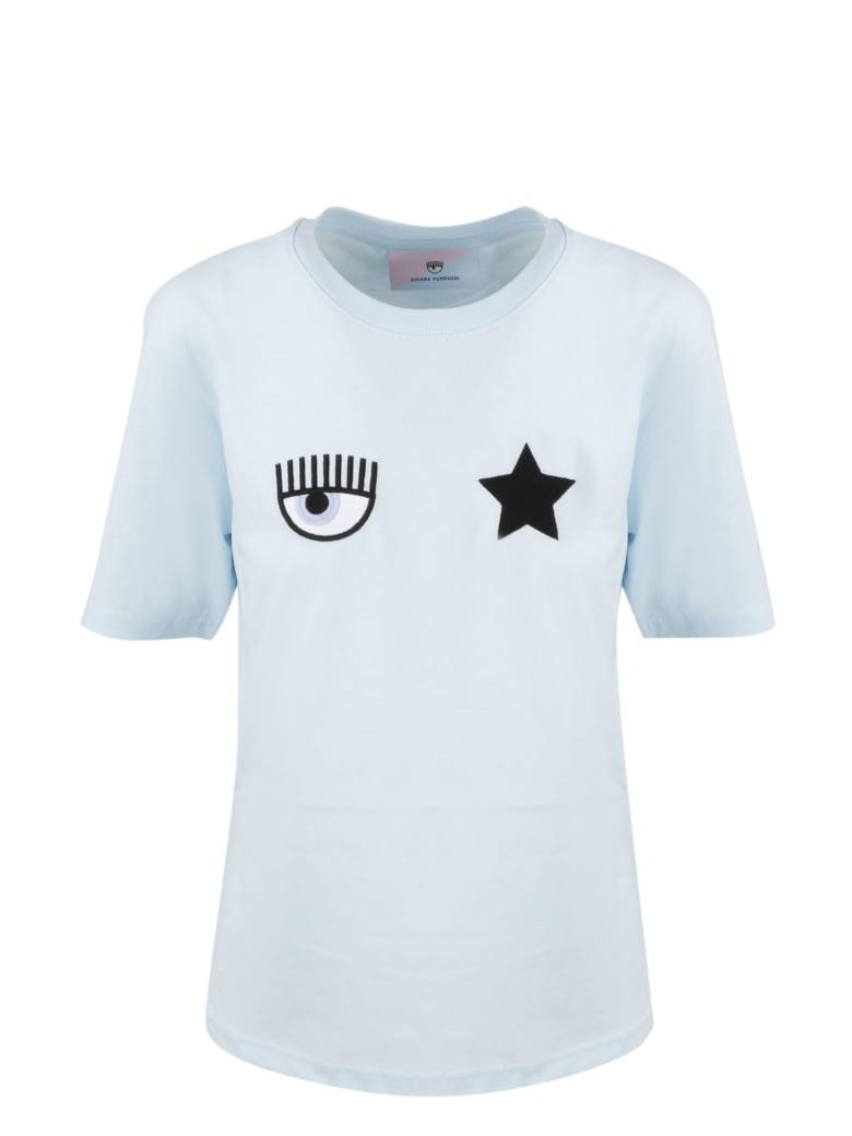 Chiara Ferragni Eyestar T-shirt - Blue