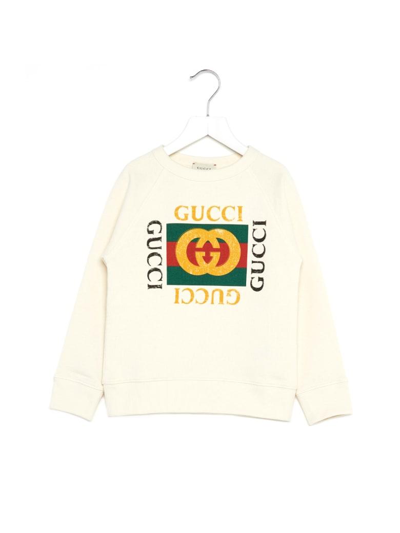 Gucci ' Box Fake' Sweatshirt - White Green Red