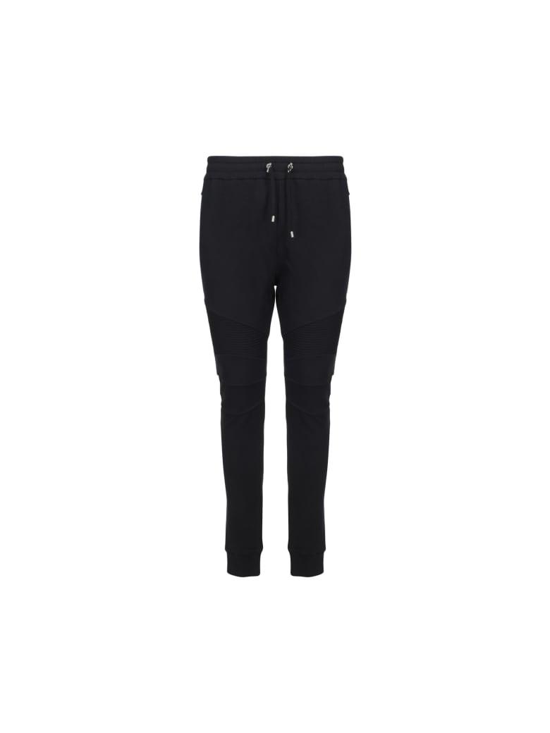 Balmain Sweatpants - Noir/blanc