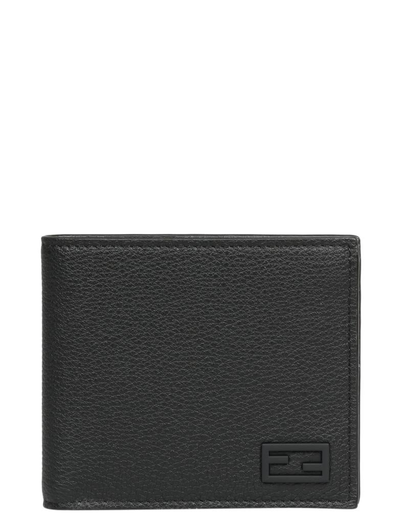 Fendi Ff Baguette Bi-fold Wallet - Black
