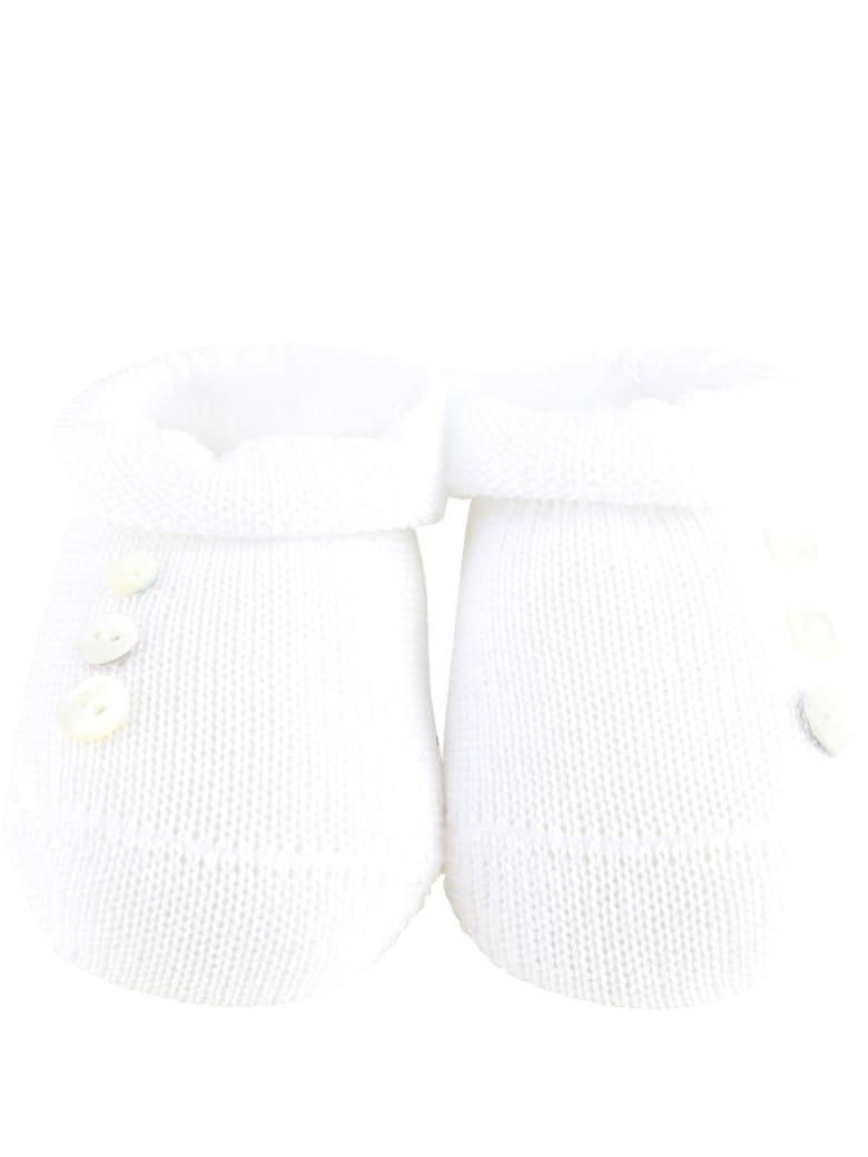 Story loris White Bootee For Babykids - White