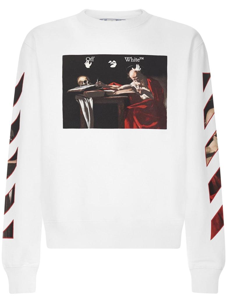 Off-White Sweatshirt - White