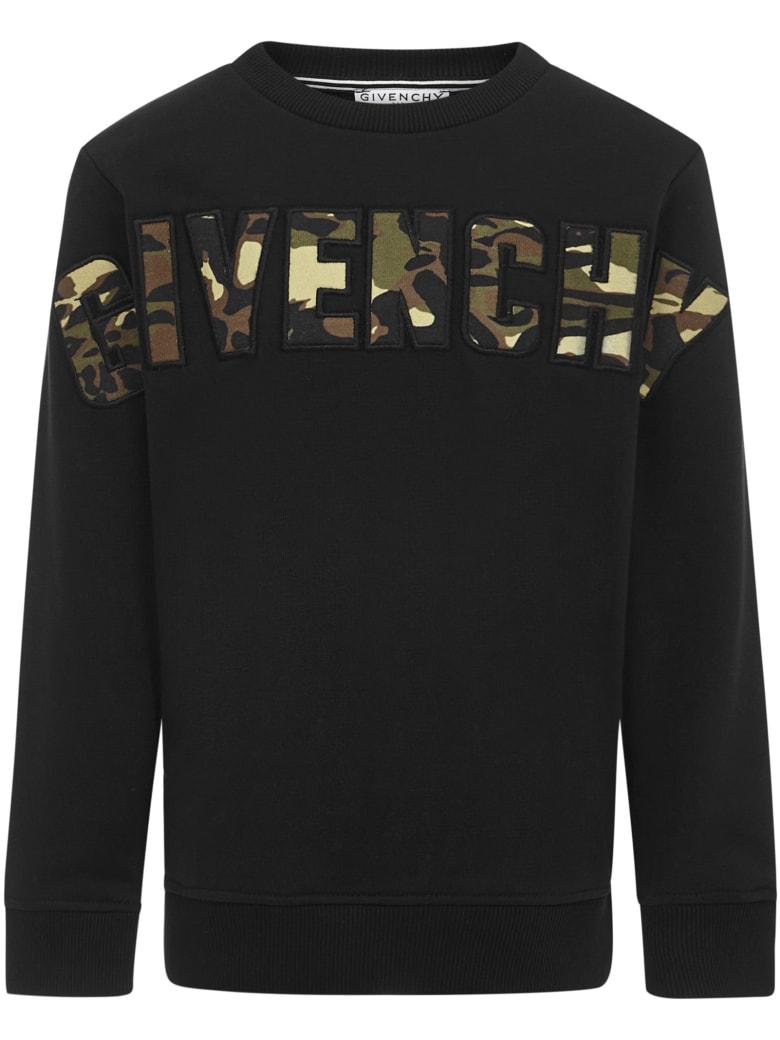 Givenchy Kids Sweatshirt - Black
