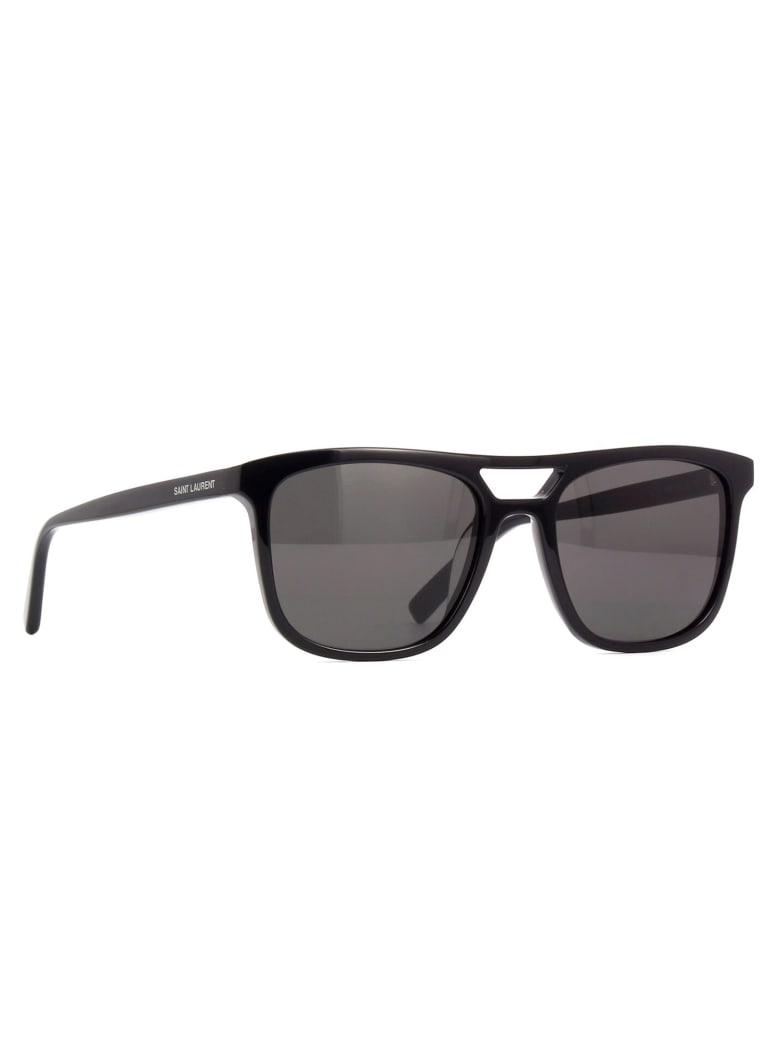 Saint Laurent SL 455 Sunglasses - Black Black Black