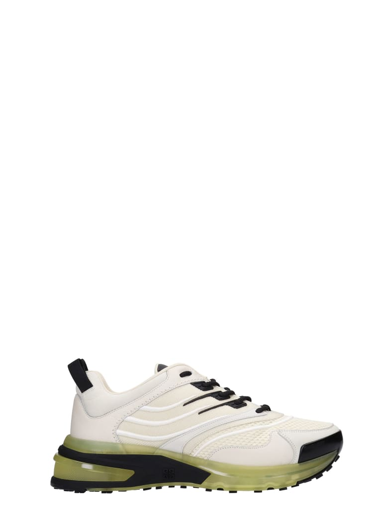 Givenchy Giv 1 Sneakers In White Synthetic Fibers - white