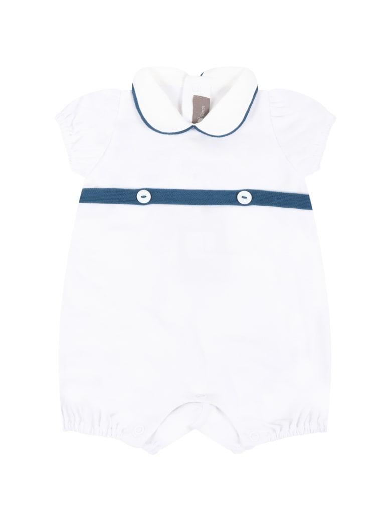 Little Bear White Romper For Babykids - White