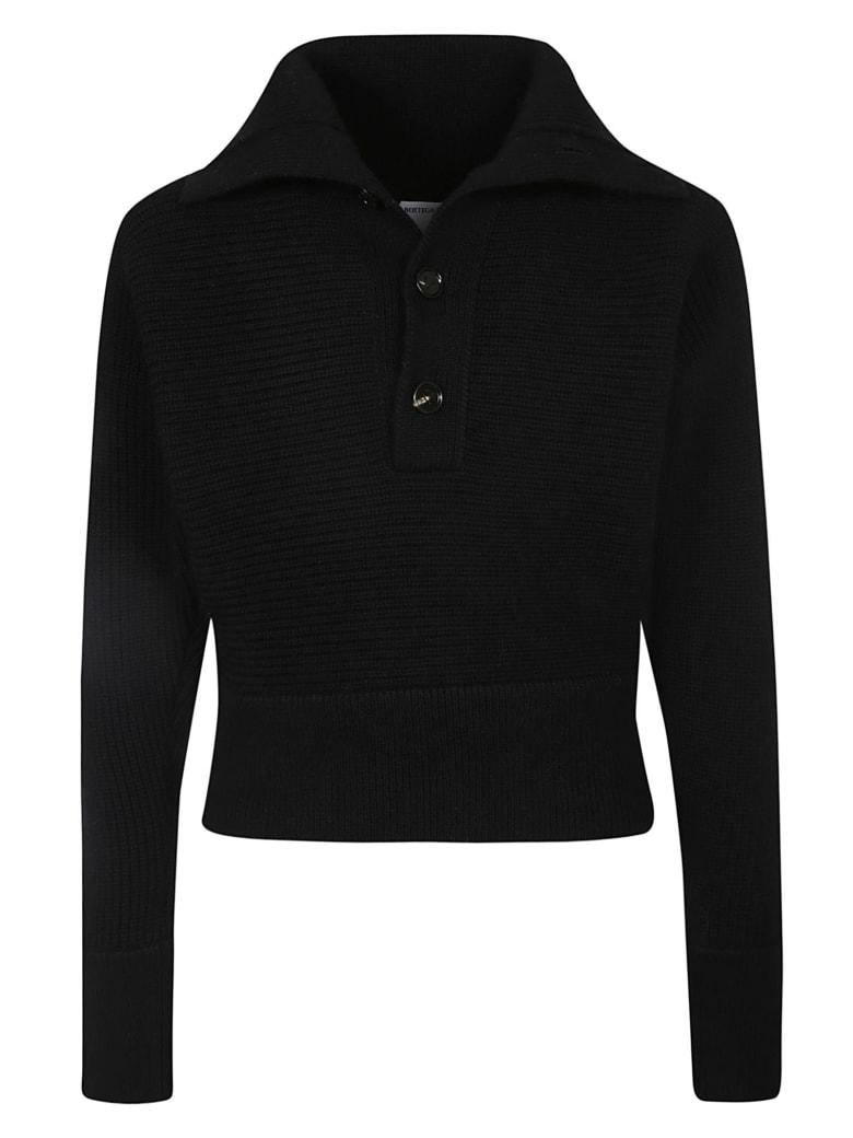 Bottega Veneta Military Icon Knits Sweater - Black