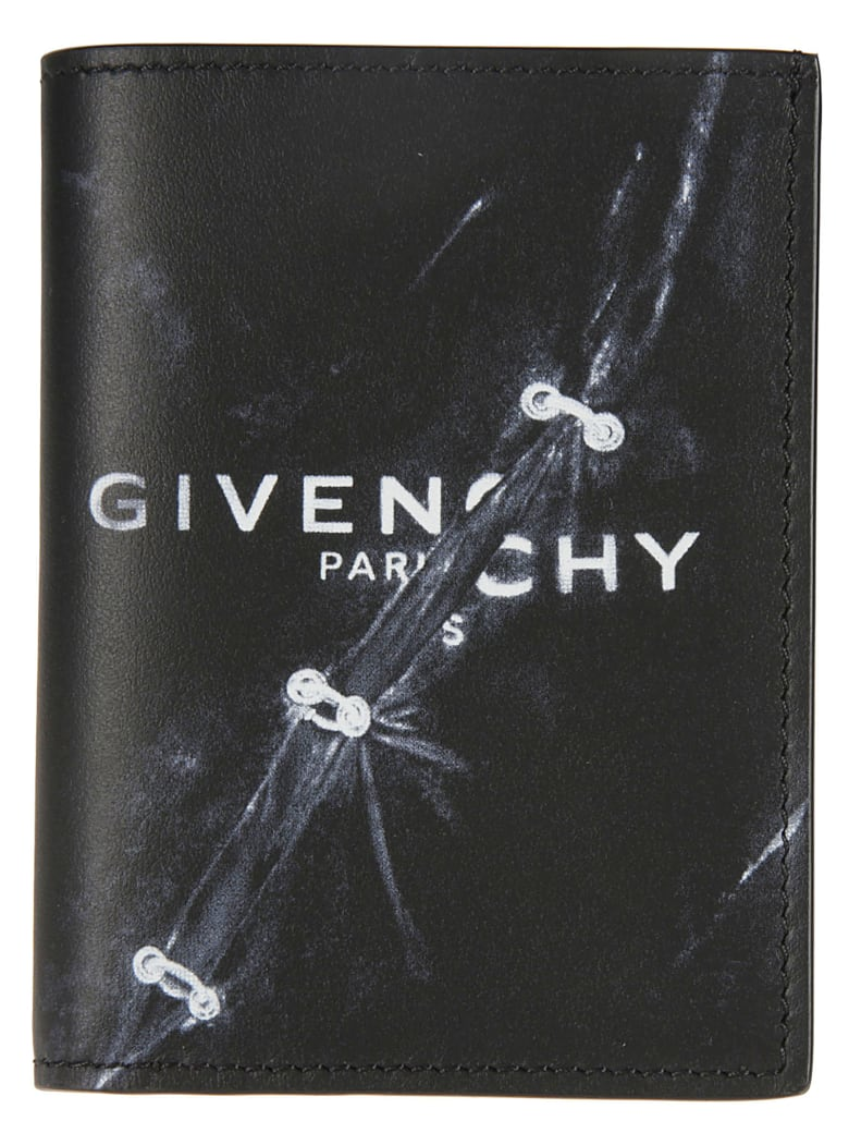 Givenchy Logo 6cc Card Holder - Nero