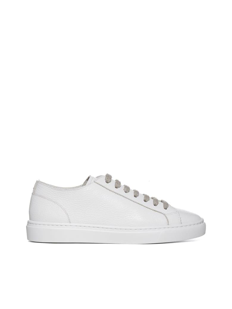 Doucal's Sneakers - Bianco f do bianco