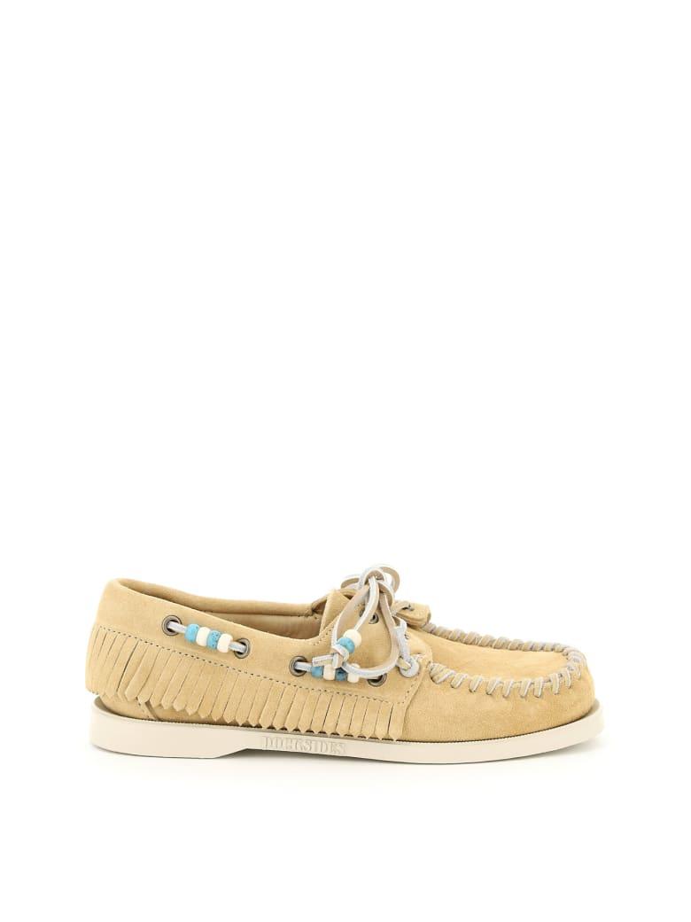 Alanui Dockside And Sebago Collaboration Loafers - Beige
