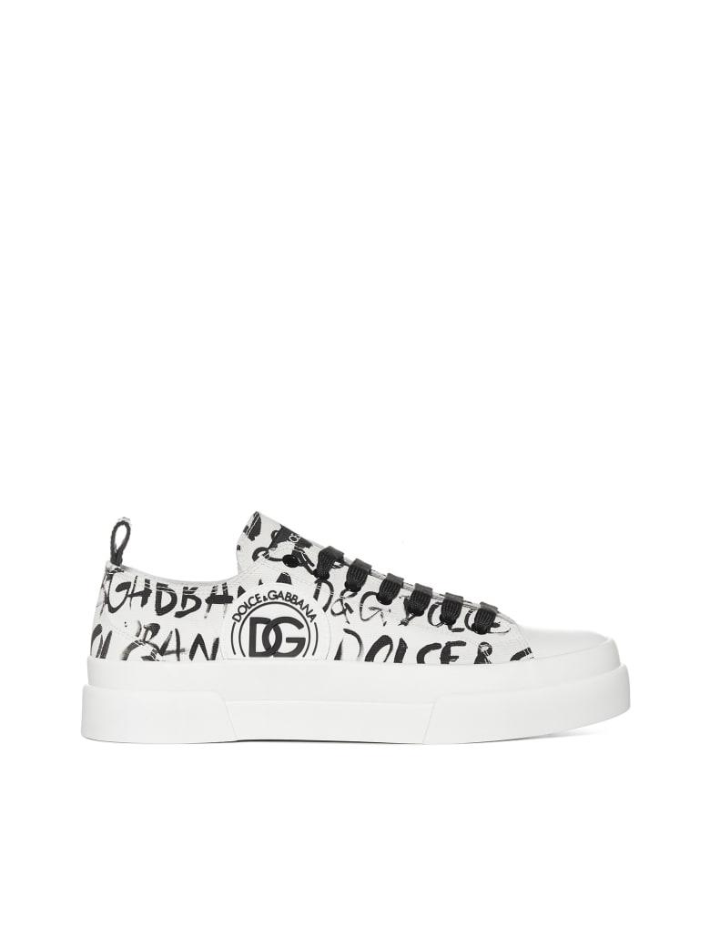 Dolce & Gabbana Sneakers - Logo3 nero fbco nat