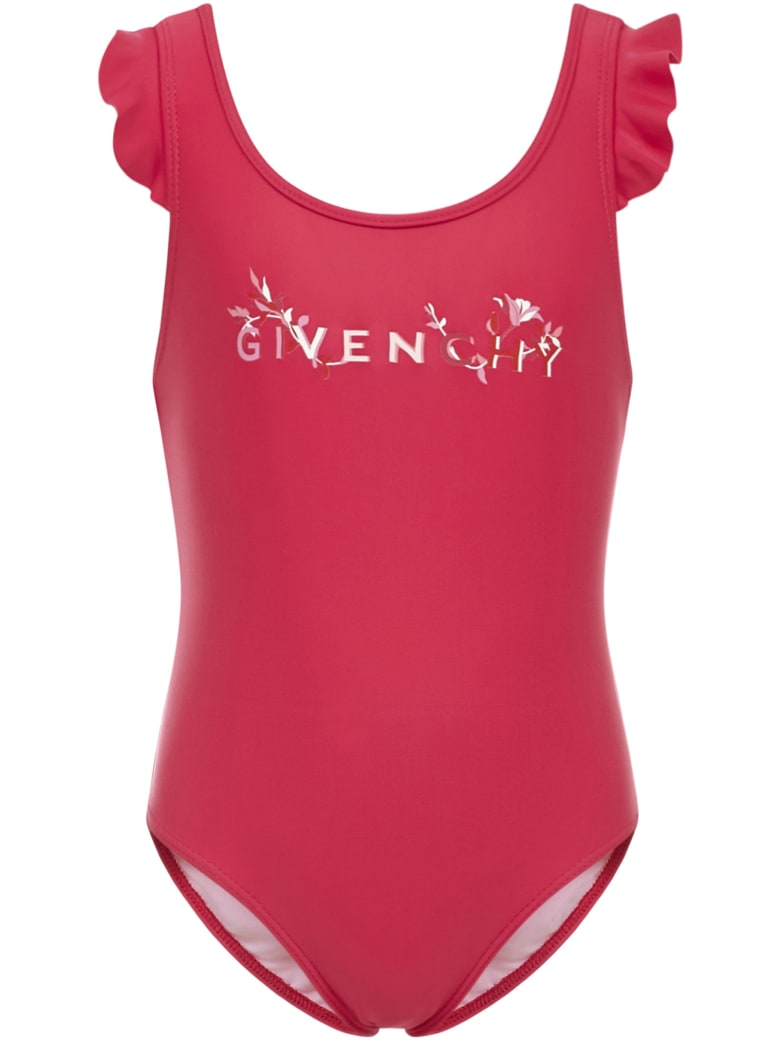 Givenchy Kids Swimsuit - Fuxia
