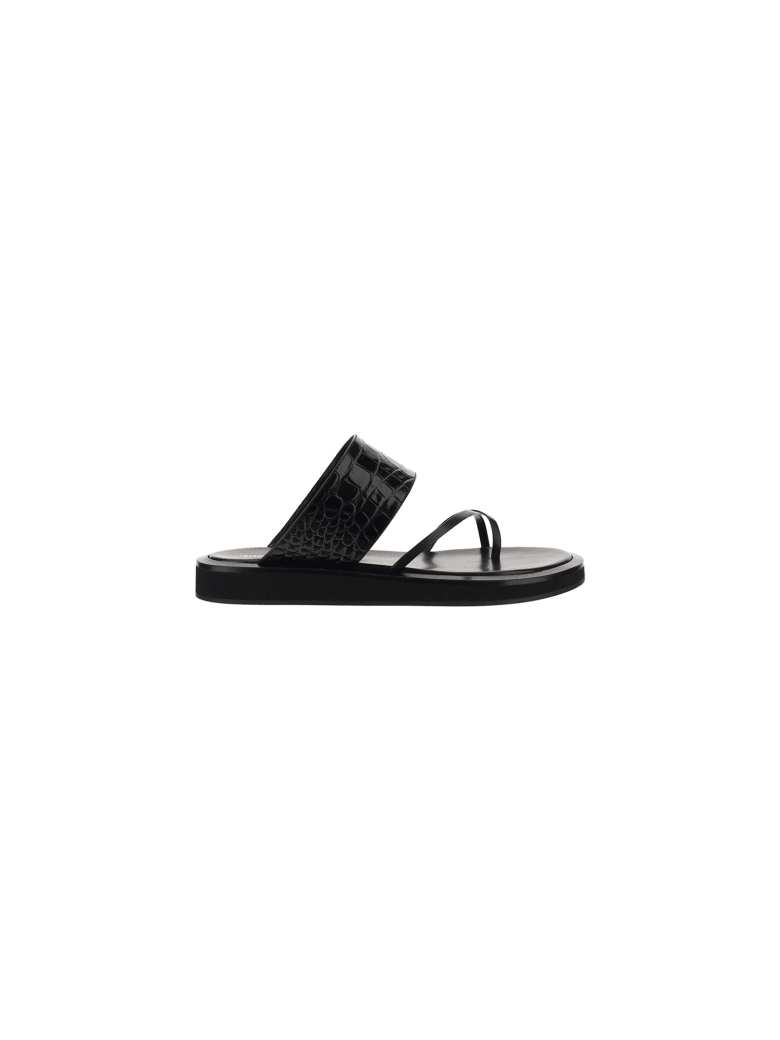 Paris Texas Brooklyn Sandals - Black