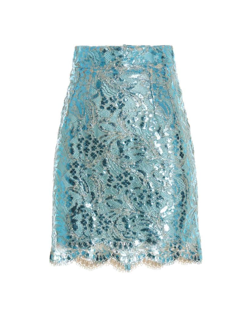Dolce & Gabbana 'dg Pop' Skirt - Azzurro