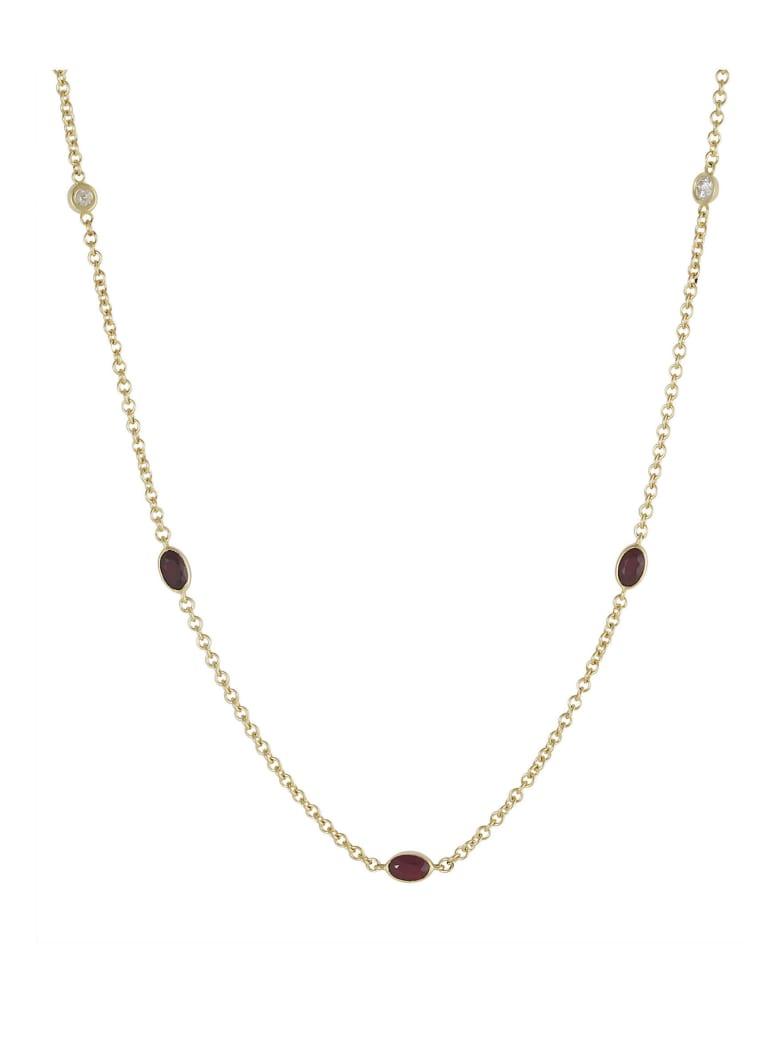 Lo Spazio Jewelry Lo Spazio Ruby and Diamond Necklace - Ruby