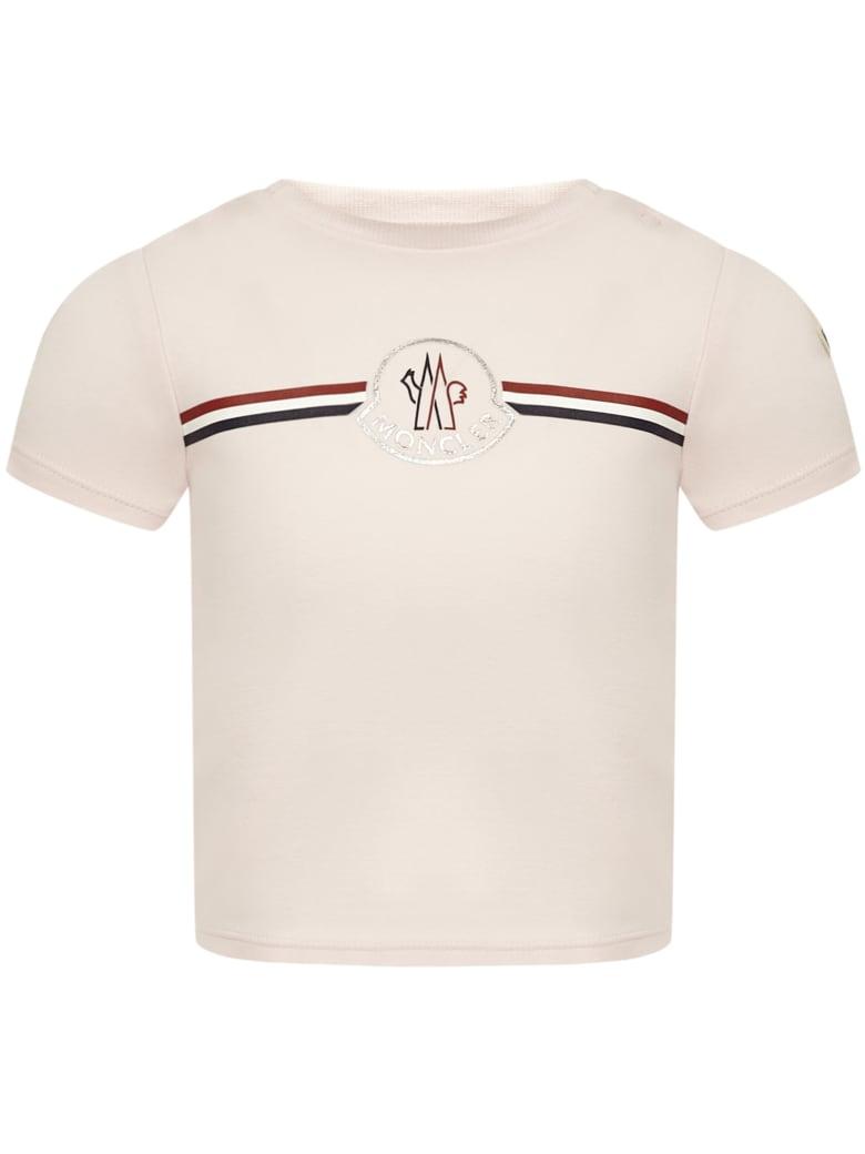 Moncler Enfant T-shirt - Pink