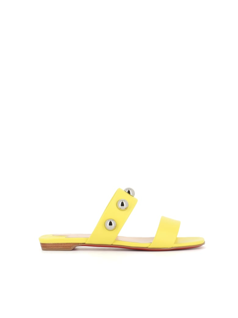 Christian Louboutin Mule Simple Bille - Yellow