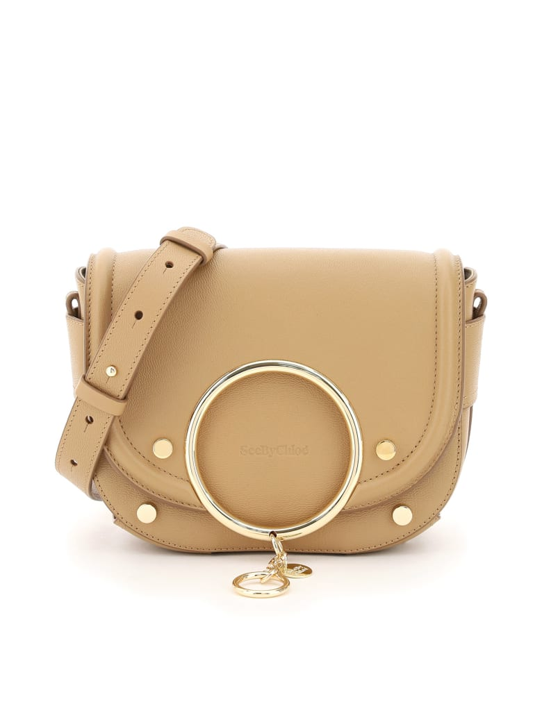 See by Chloé Mara Shoulder Bag - COCONUT BROWN