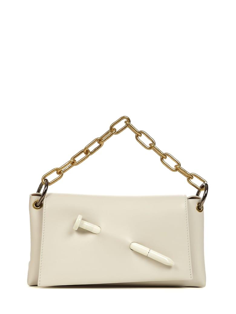 Off-White Nail Shoulder Bag - White