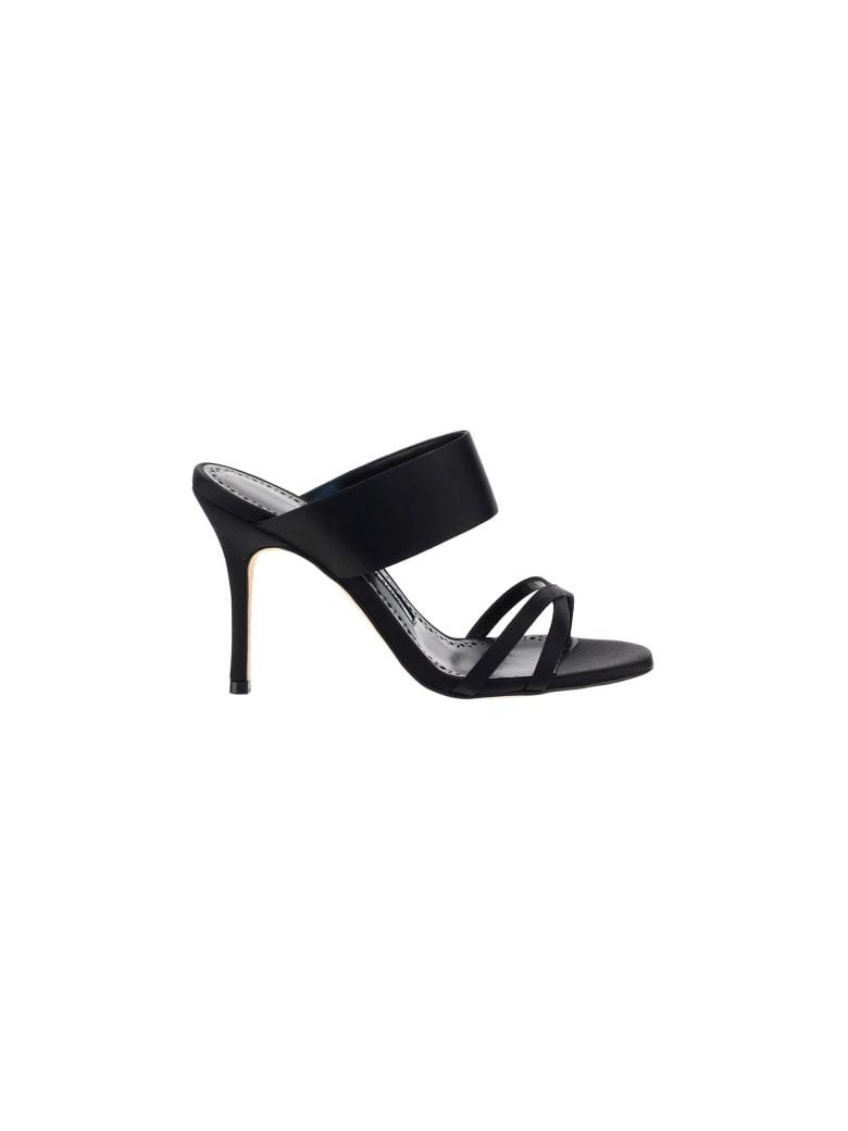 Manolo Blahnik Gueypla90 Sandals - Blck