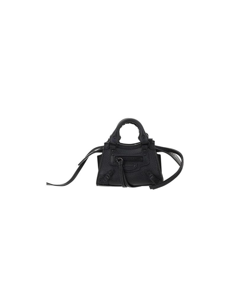 Balenciaga Neo Classic City Super Nano Bag - Black