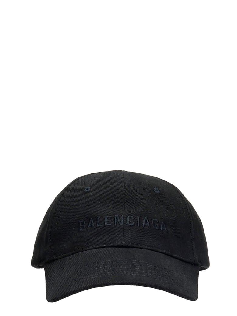 Balenciaga Hats In Black Cotton - black
