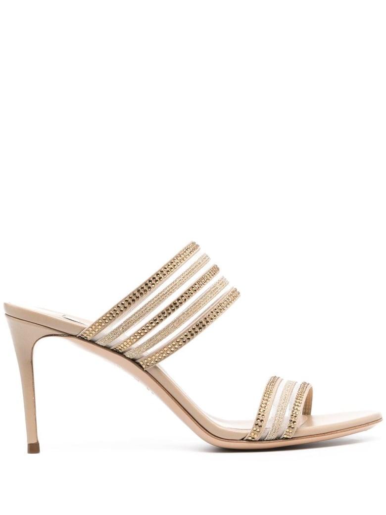 Casadei Julia Venus Planet Sandals - Beige