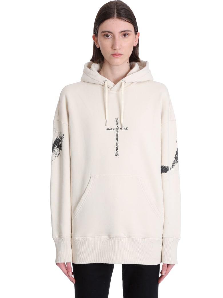 Givenchy Sweatshirt In Beige Cotton - beige