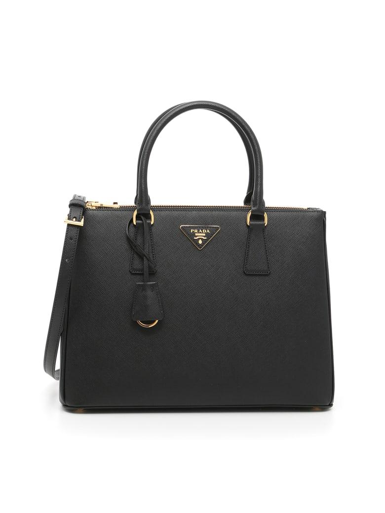 Prada Saffiano Lux Galleria Bag - Nero