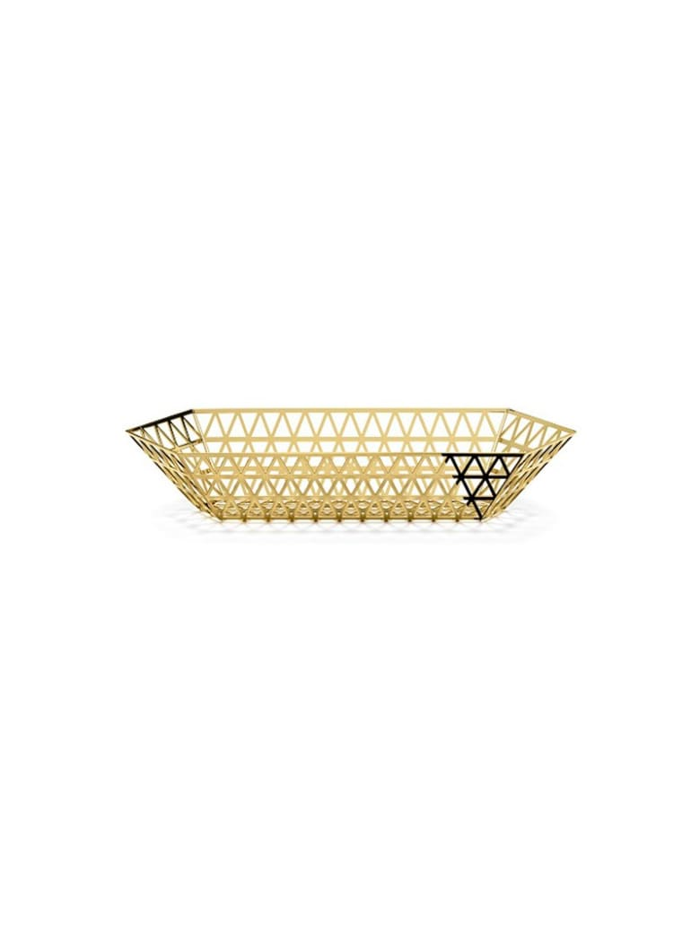 Ghidini 1961 Tip Top - Limousine Tray Polished Gold - Polished gold