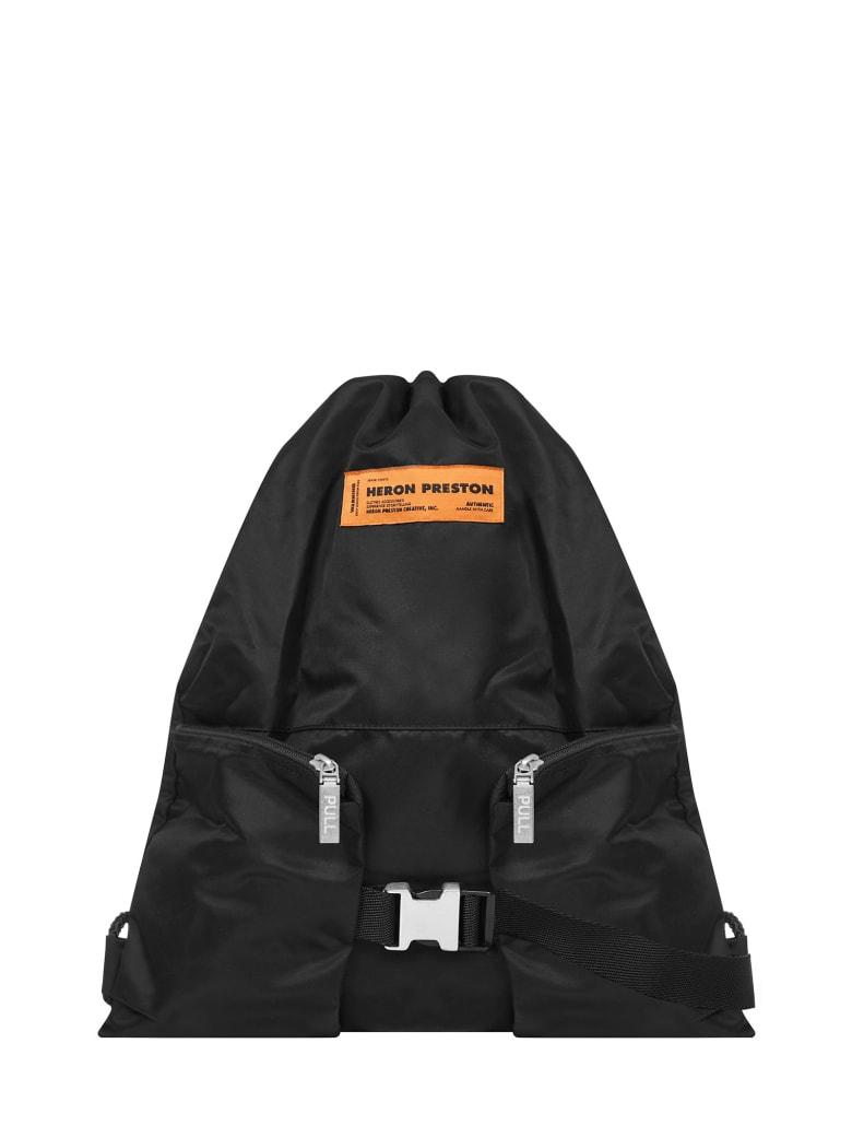 HERON PRESTON Backpack - Black
