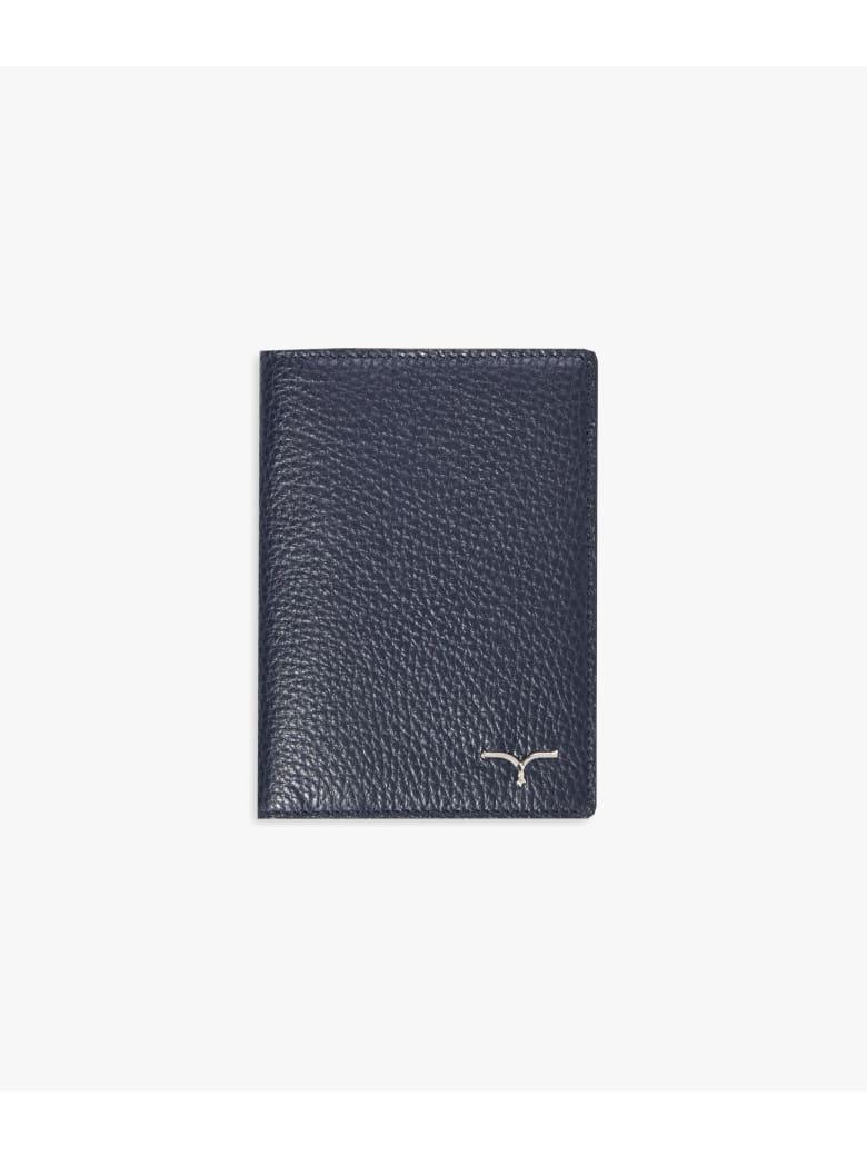 "Larusmiani Passport Cover ""concorde"" - navy"