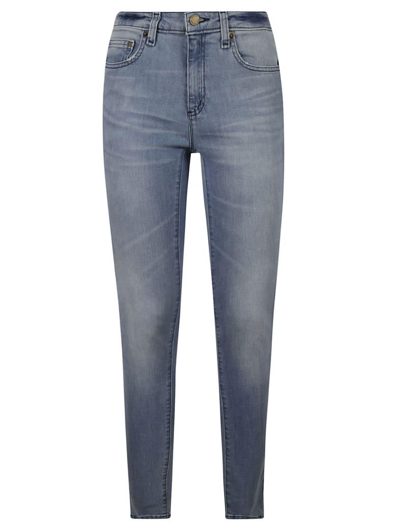 Michael Kors Slim-fit Jeans - Light Indigo
