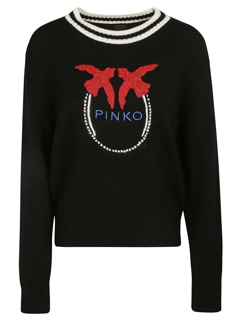Pinko Collio Sweater - Black/White