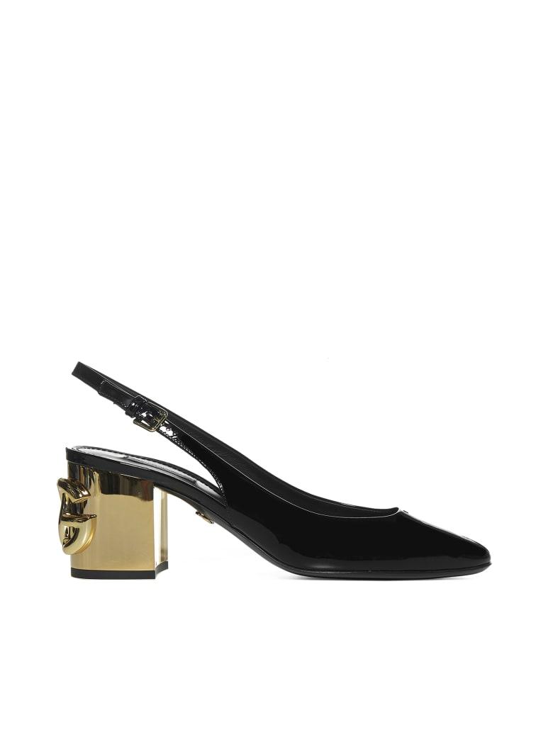 Dolce & Gabbana High-heeled shoe - Nero oro