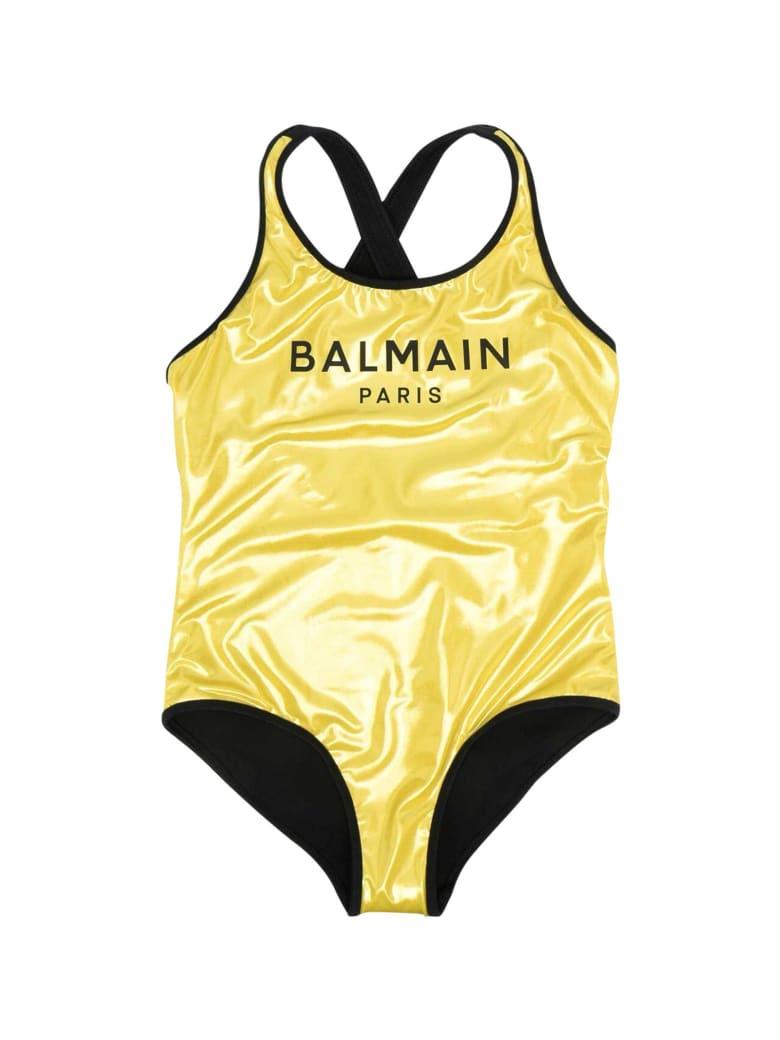 Balmain Gold Swimsuit - Oro