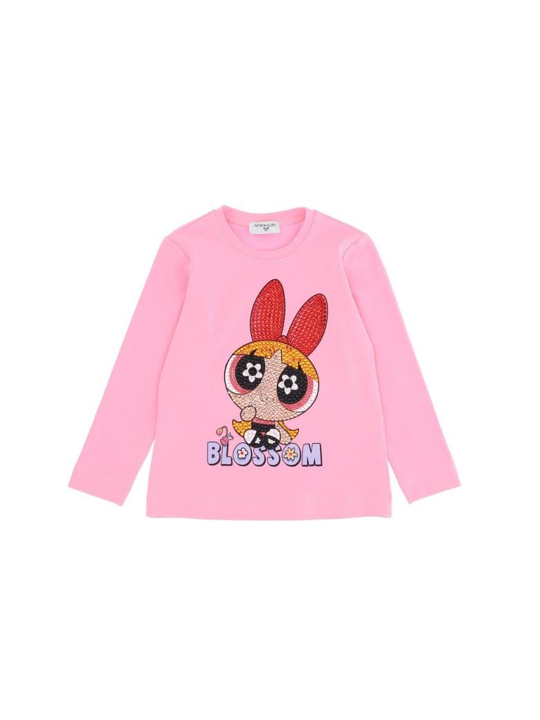 Monnalisa Regular T-shirt - Pink