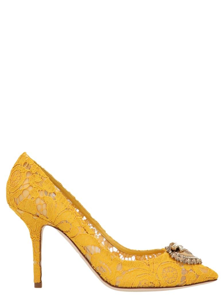 Dolce & Gabbana 'devotion' Shoes - Beige