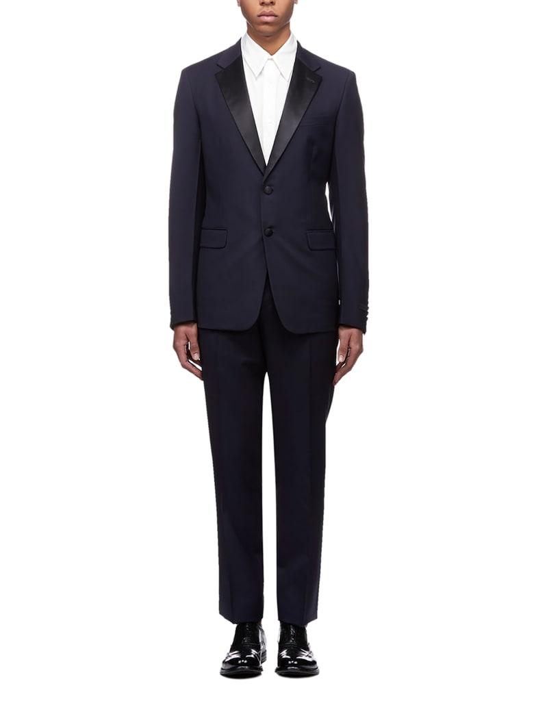 Prada Single Breasted Suit - Navy nero