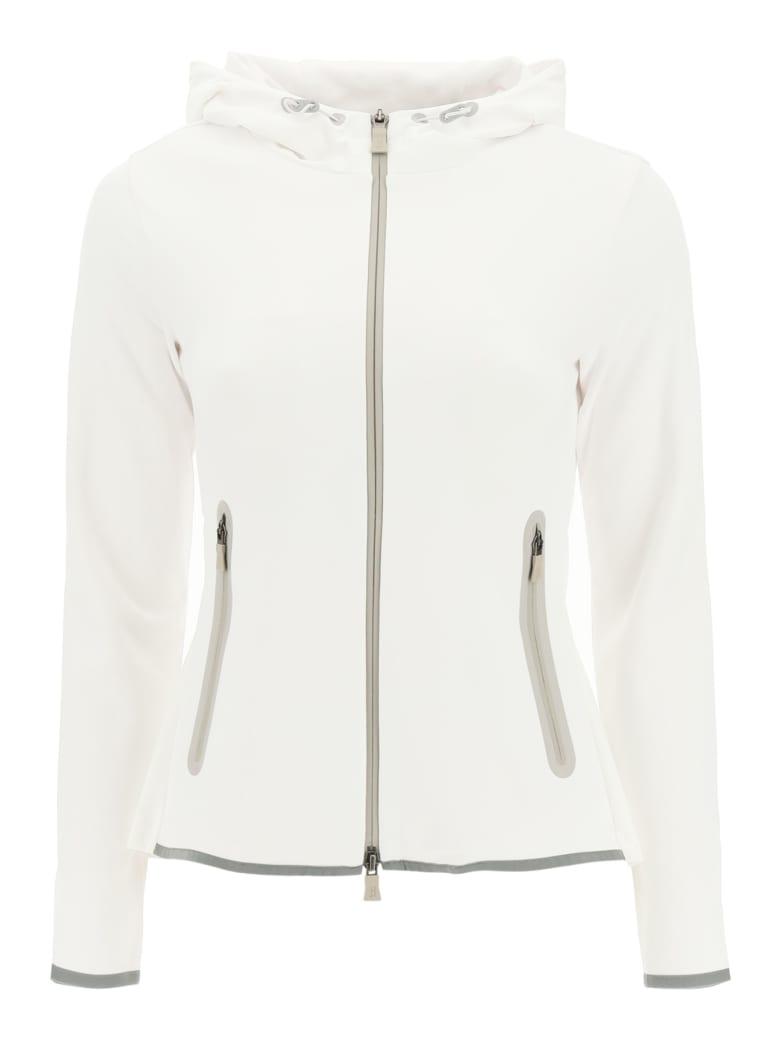 Herno Laminar Techno Double Sweater Gore-tex Jacket - BIANCO (White)