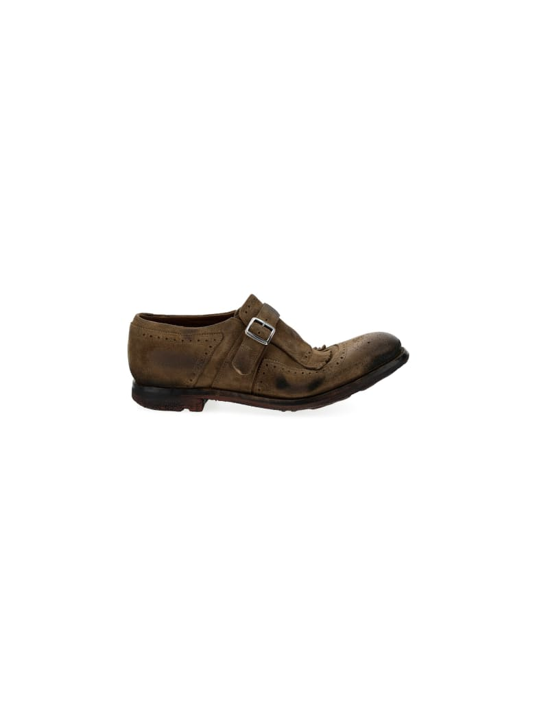 Church's Churchs Lace Up Shoes - Tabacco
