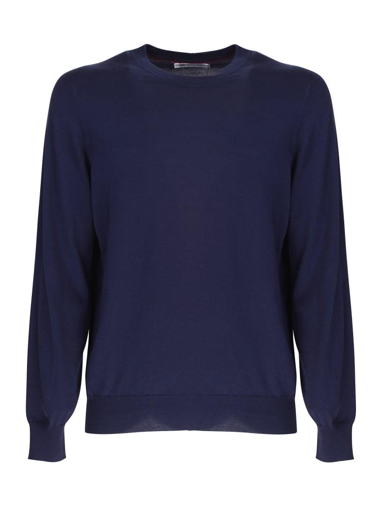 Brunello Cucinelli cotton sweater - Blu