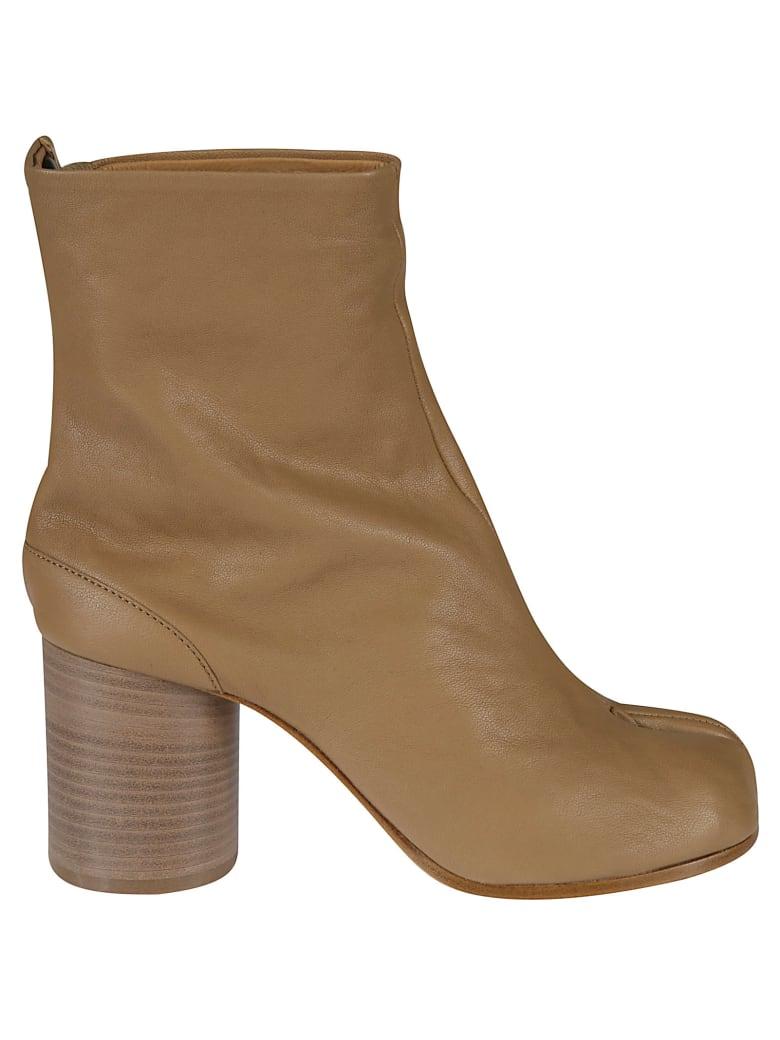 Maison Margiela Tabi Ankle Boots - Beige